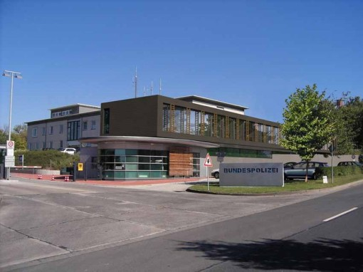Bundespolizei Hünfeld, Bundespolizei Hünfeld Gebäude, Bundespolizei Hünfeld Architekt