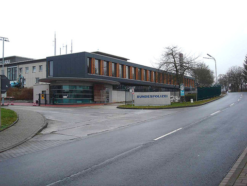 Bundespolizei Hünfeld, Bundespolizei Hünfeld Winkler, Architekt Winkler