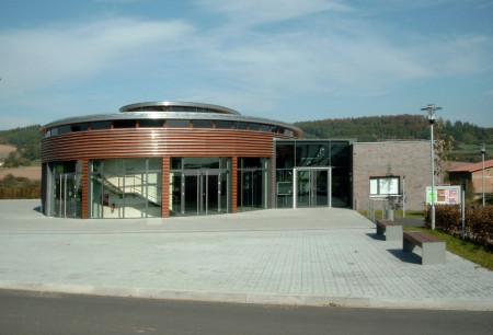 Wartenberg Oval, Kassel Architekt, Winkelbaukörper Haus